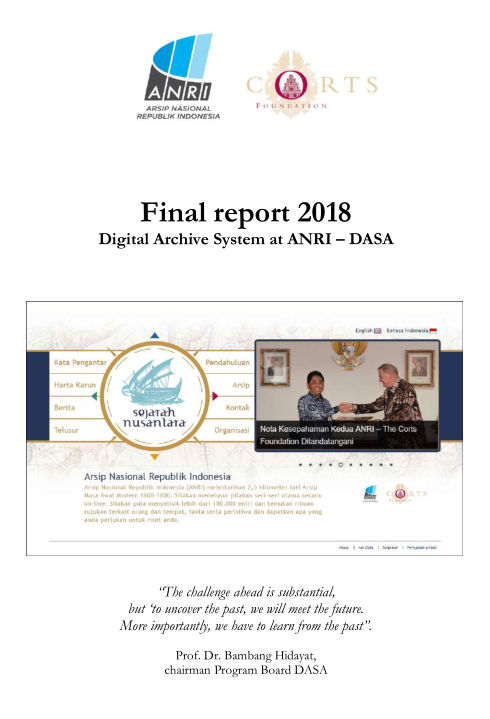 2018 DASA Final Report cover